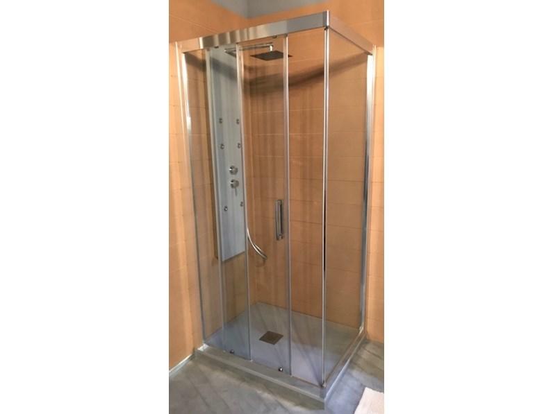 Arredamento bagno mobile blu bleu box doccia in offerta for Arredamento in offerta