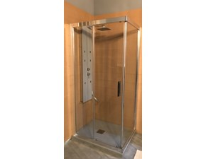 Arredamento bagno: mobile Blu-bleu Box doccia in Offerta Outlet