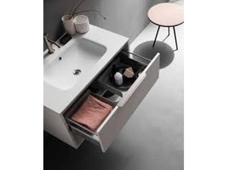 Arredamento bagno mobile cerasa assolo in offerta outlet for Arredamento in offerta