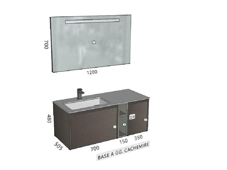 Arredamento bagno mobile cerasa movida in offerta - Mobile bagno laminato ...