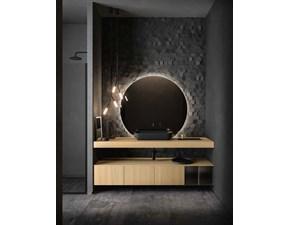 Arredamento bagno: mobile Cerasa Nerolab composizone 6 a prezzo scontato