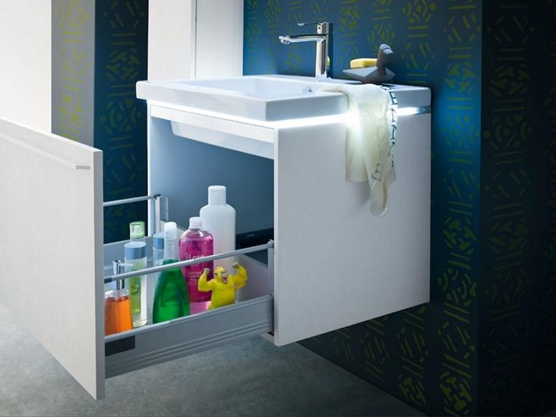 Arredamento bagno mobile compab ga205 in offerta outlet - Arredo bagno offerta ...