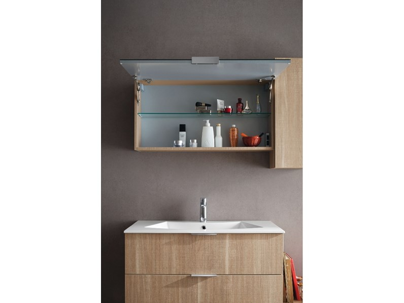 Arredamento bagno mobile compab ga207 a prezzo outlet for Arredo bagno design outlet