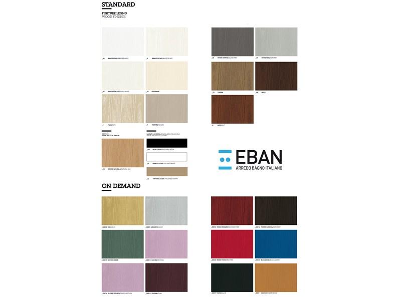 Arredamento bagno mobile eban eleonora 105 max con forte for Arredamento di marca scontato