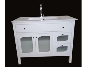 Mobile bagno completo di specchio e mobile vecchia - Arredo bagno outlet torino ...