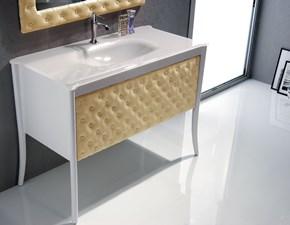 Arredamento bagno: mobile Euro bagno Capitonne oro a prezzo Outlet