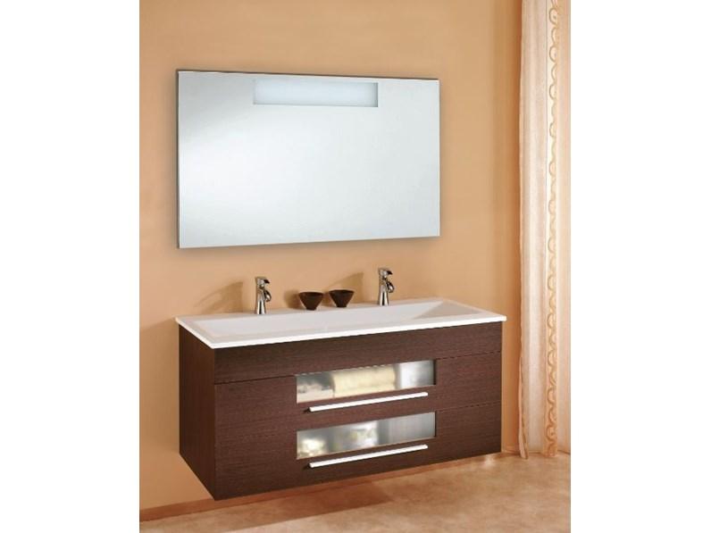 Arredamento bagno mobile euro bagno cipro cm 125 a prezzo for Arredamento di marca scontato