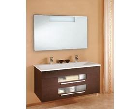 Arredamento bagno: mobile Euro bagno Cipro cm 125 a prezzo scontato