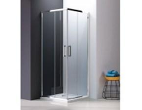 Arredamento bagno: mobile Euro bagno Doccia ante scorrevoli 80x100 in Offerta Outlet