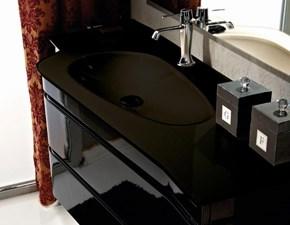 Arredamento bagno: mobile Euro bagno Doppio sagomato cm 243  in offerta
