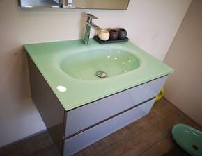 Arredamento bagno: mobile Euro bagno Laccato grigio cm 71 in Offerta Outlet
