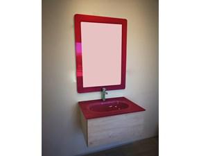 Arredamento bagno: mobile Euro bagno Mont rovere a prezzo Outlet