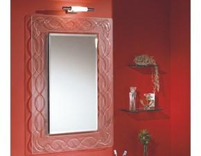 Arredamento bagno: mobile Euro bagno Specchiera in fusione con cornice8 a prezzo Outlet