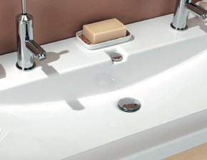 Arredamento bagno: mobile Euro bagno Top ceramica doppio ref530 a prezzo scontato