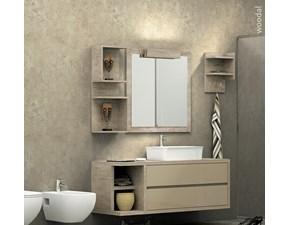 Arredamento bagno: mobile Marzorati Woodal 01 a prezzi outlet