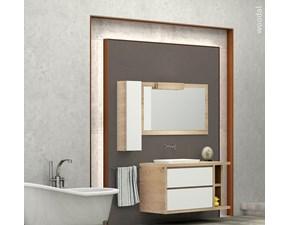 Arredamento bagno: mobile Marzorati Woodal 02 con forte sconto