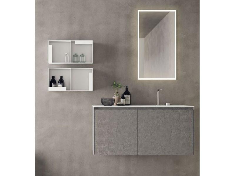 Arredamento bagno mobile nov bagni calix a09 a prezzi outlet for Arredo bagno prezzi outlet