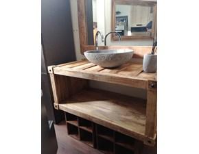 Arredamento bagno: mobile Nuovi mondi cucine Bagno container legno dialma industrial in offerta
