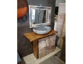 Arredamento bagno: mobile Nuovi mondi cucine Bagno minimal legno zen  con forte sconto