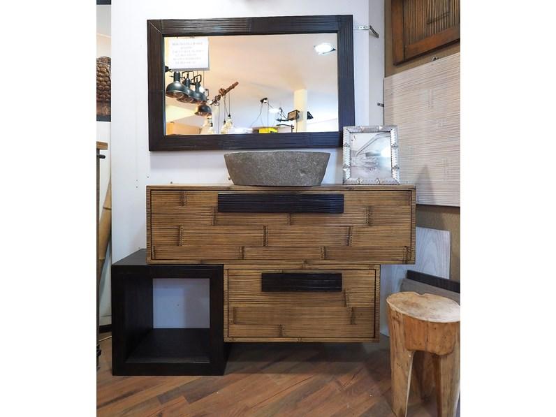 Arredamento bagno mobile nuovi mondi cucine mobile bagno for Bambu arredamento