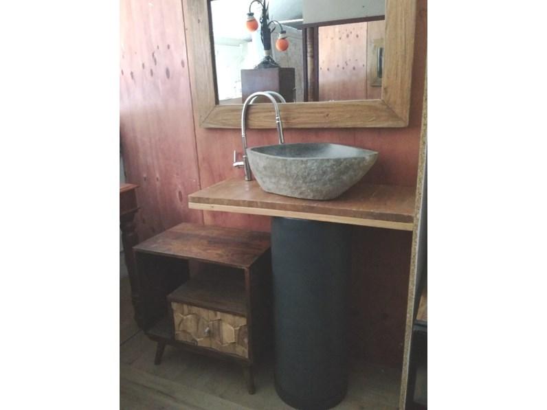 Arredamento bagno mobile outlet etnico bagno colonna ferro industrial style a prezzi outlet - Arredo bagno prezzi outlet ...