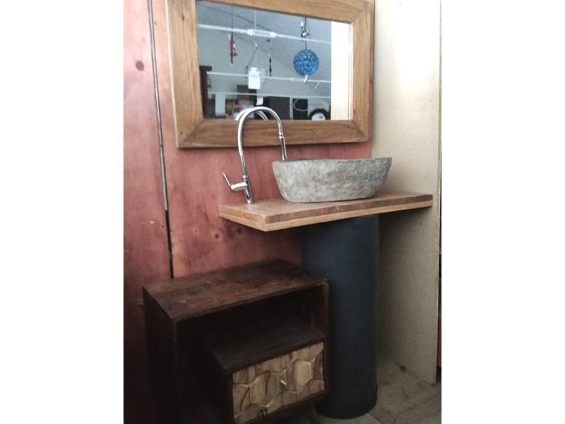 Arredamento bagno mobile outlet etnico bagno colonna for Arredo bagno prezzi outlet
