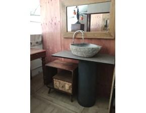 Arredamento bagno: mobile Outlet etnico Bagno colonna ferro industrial style a prezzi outlet