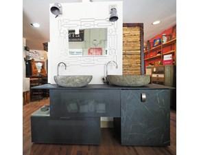 Arredamento bagno: mobile Outlet etnico Mobile bagno doppio lavabo stiloe industrial  a prezzi convenienti