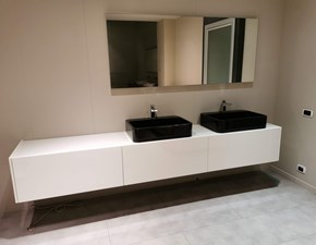 Arredamento bagno: mobile Rifra Less con forte sconto