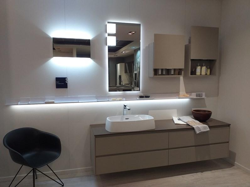Arredamento bagno mobile scavolini rivo a prezzo outlet for Arredo bagno scavolini