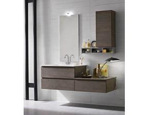 Arredamento bagno moderno: mobile bagno sospeso Compab in offerta