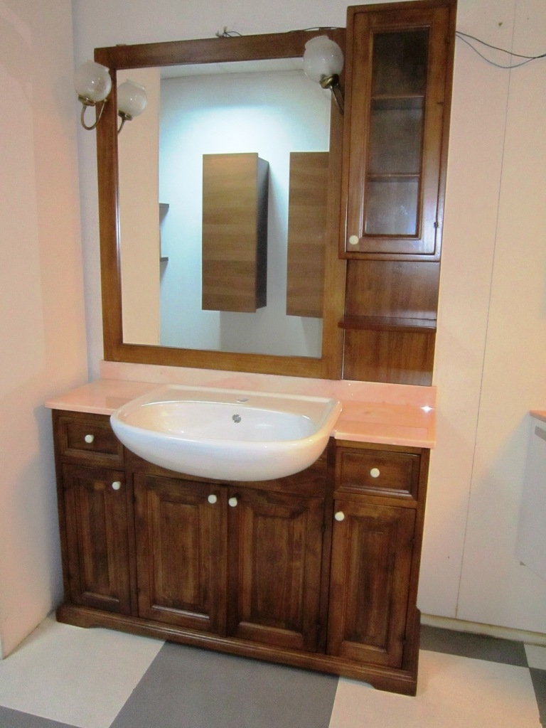 Arredi bagno bagno mod borgo antico arte povera scontato del 59 arredo bagno a prezzi scontati - Mobile da bagno classico ...