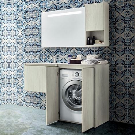 Arredo bagno lavanderia movida 05 arredo bagno a prezzi scontati - Arredo lavanderia bagno ...