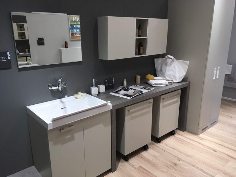Arredi Lavanderia Bagno : Arredo bagno lavanderia scavolini aquo con un ribasso del