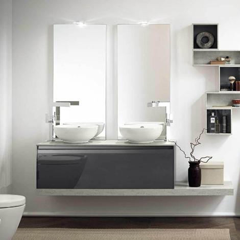 Awesome Mobili Bagno Azzurra Contemporary - Amazing House Design ...