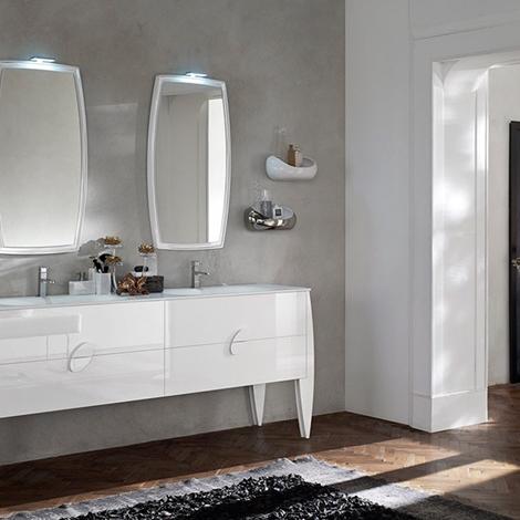 Arredo bagno moderno di Ardeco modello Glamour - Arredo bagno a prezzi ...