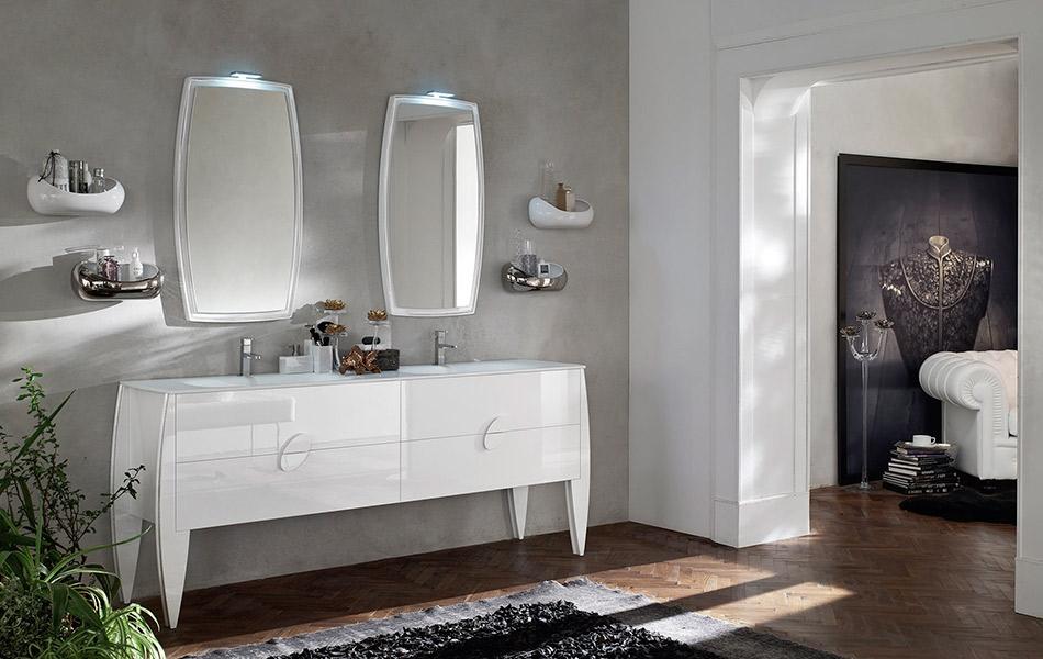 arredo bagno moderno di ardeco modello glamour - arredo bagno a ... - Immagini Di Arredo Bagno Moderno