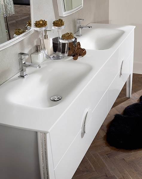 Arredo bagno moderno di ardeco modello glamour arredo - Modelli di bagno ...