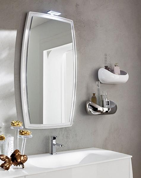Specchiera Bagno Mensoline Legno Glamour : Specchiere bagno moderne interesting lo specchio elemento