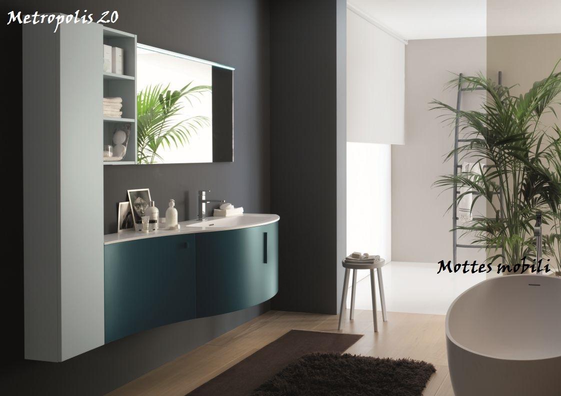 Arredo bagno moderno metropolis azzurra arredo bagno a - Bagno arredo moderno ...