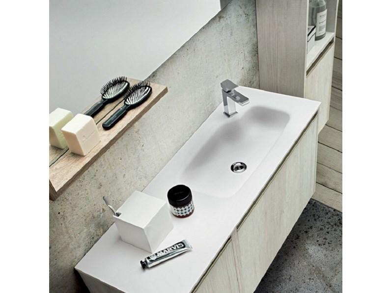 Arredo bagno sospeso movida 04 - Mobile bagno profondita 35 ...