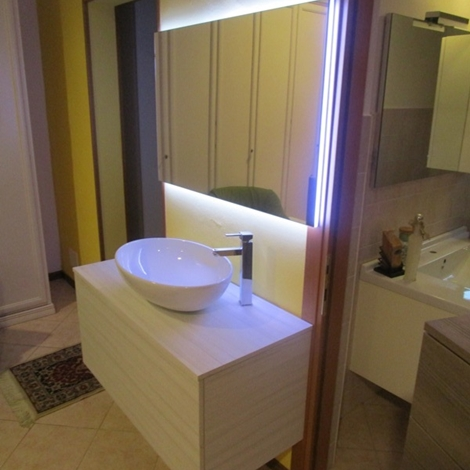 Azzurra bagni lime moderno laminato sospeso arredo bagno for Mobile bagno moderno sospeso prezzi