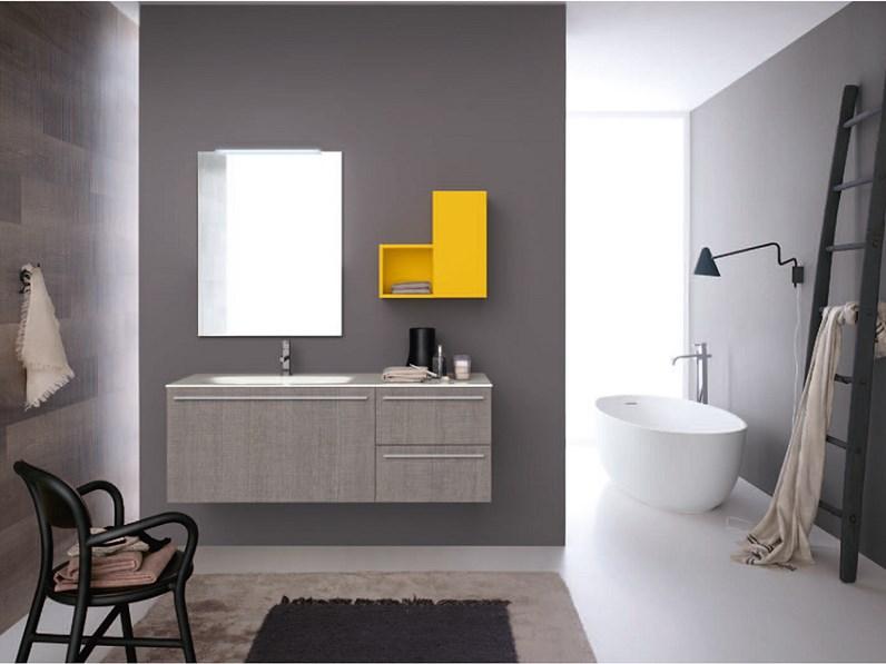 Azzurra bagni composizione n 23 in laminato rovere miele dogato scontato - Laminato in bagno ...