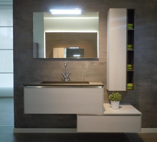 bagno arbi moderno sospeso sconto outlet -42% - arredo bagno a ... - Sconti Arredo Bagno