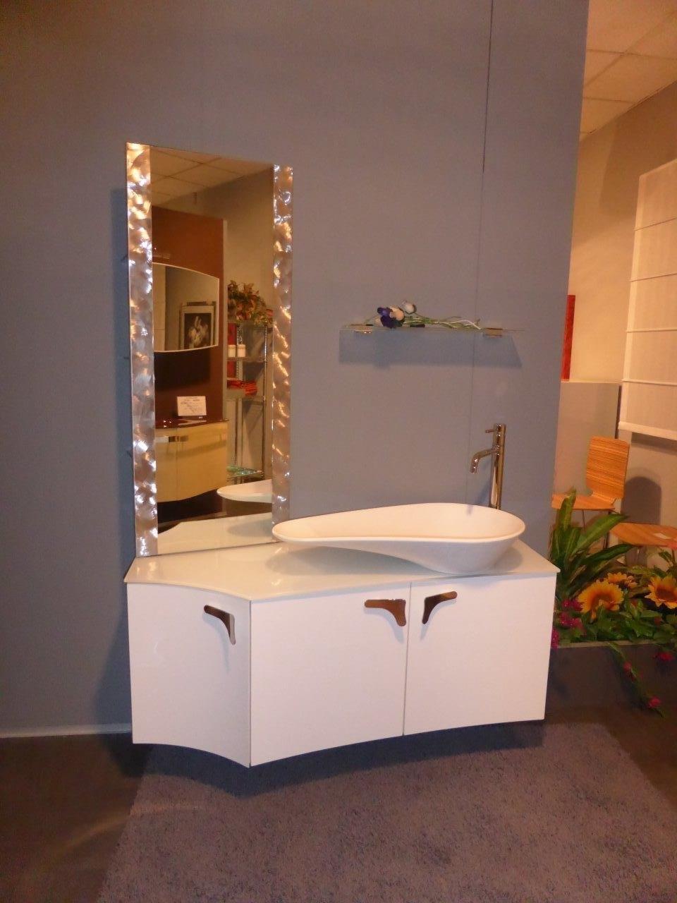 Bagno bianco lucido scontato arredo bagno a prezzi scontati - Bagno bianco lucido ...