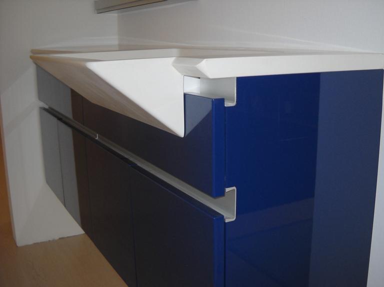 mobile bagno blu milldue in offerta