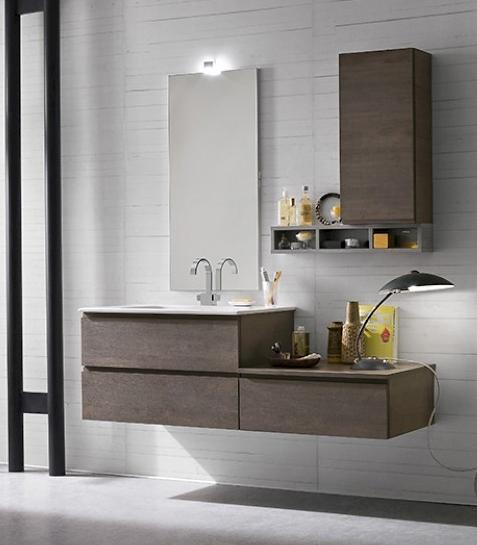 Bagno sospeso moderno compab arredo bagno a prezzi scontati - Lavabo bagno sospeso offerta ...