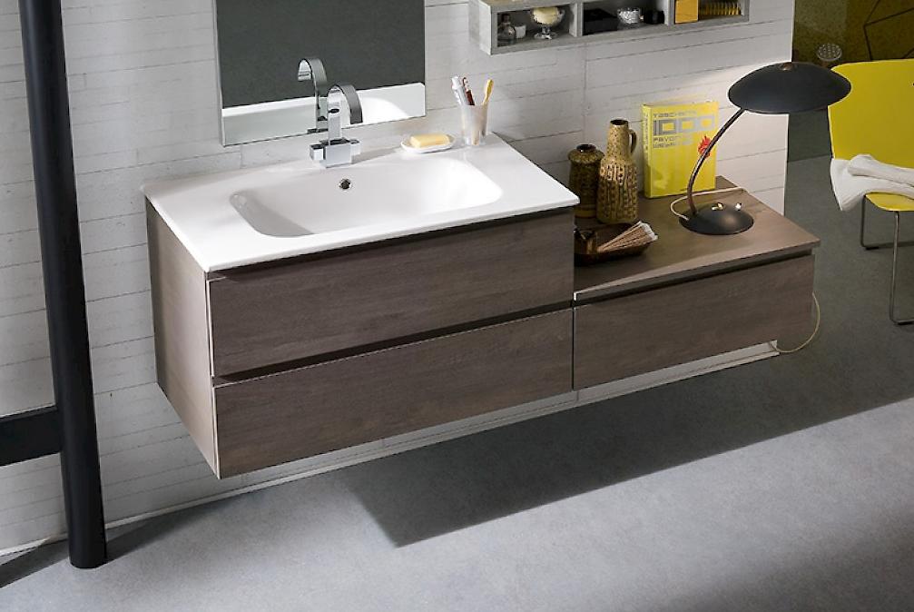 Bagno sospeso moderno compab arredo bagno a prezzi scontati for Arredo bagno lavabo