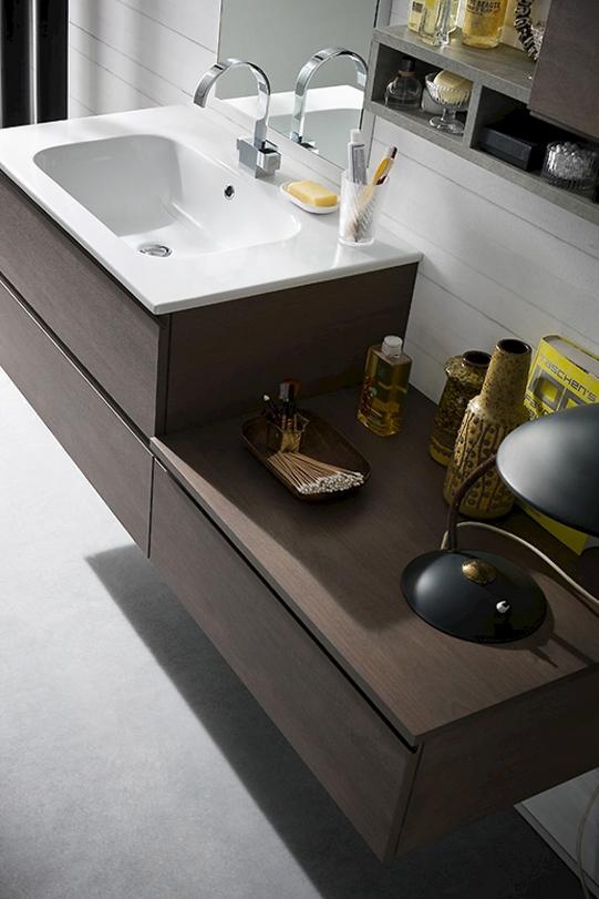 Bagno sospeso moderno compab arredo bagno a prezzi scontati for Prezzi lavabo bagno