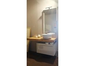 Bagno con dettaglio in legno Arcom: mobile da bagno A PREZZI OUTLET